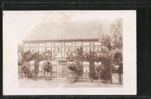 Foto-AK Bodenstedt, Ansicht eines Hauses