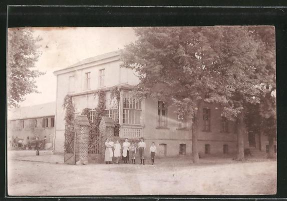 Foto-AK Stolzenhagen, Ansicht eines Hauses