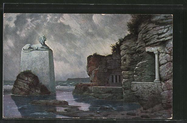 Künstler-AK Hermann Rüdisühli: