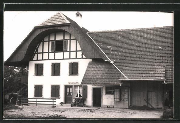 Foto-AK Siselen, Ansicht eines Hauses