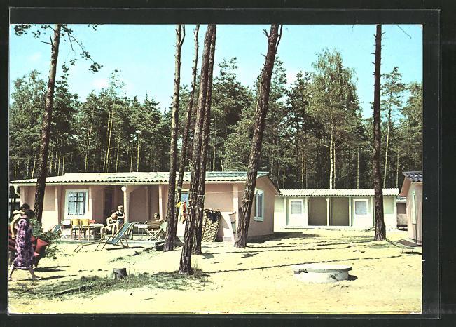AK Deutschbaselitz, Bungalowsiedlung