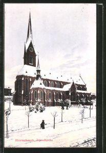 AK Rorschach, Jugendkirche im Winter