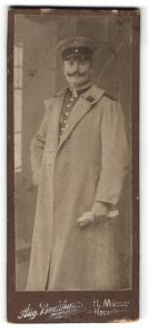 Fotografie Aug. Burkhard, H.Münden, Portrait Unteroffizier in Uniform