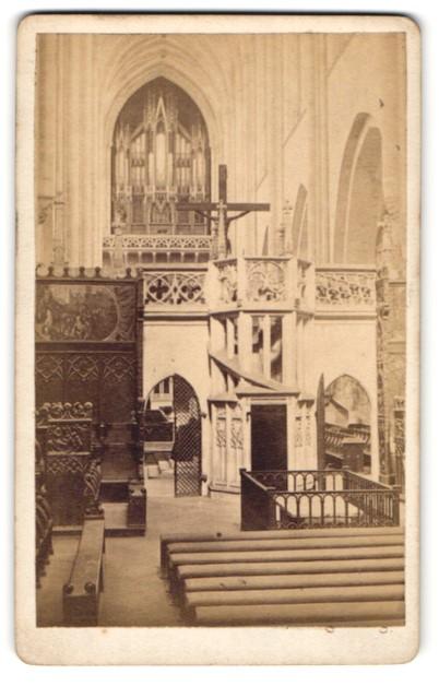 Fotografie Albert Ochs, Magdeburg, Ansicht Magdeburg, Orgel im Dom