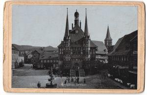 Fotografie Stengel & Co, Dresden, Berlin, Ansicht Wernigerode, Rathaus