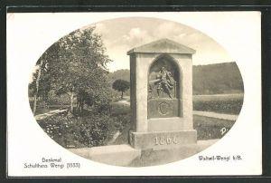 AK Waltwil-Wengi, Schulthess Wengi Denkmal