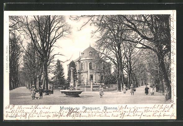 AK Bienne, Musee au Pasquart