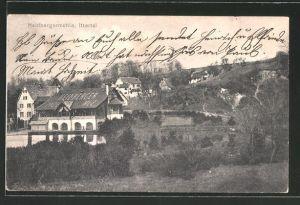 AK Solingen, Blick auf die Heidberger Mühle