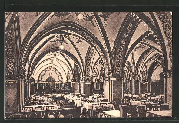 AK Berlin, Innenansicht des Reichshallen-Konzertsaal, Leipzigerstrasse 77