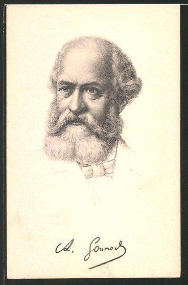 AK Charles Ground, Portrait des Komponisten