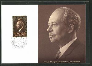 Maximum-AK Fürstentum Liechtenstein, Franz Josef II. regierender Fürst von und zu Liechtenstein