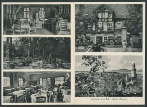 Klapp-AK Idstein, Gasthaus zum Tal, verschiedene Ansichten