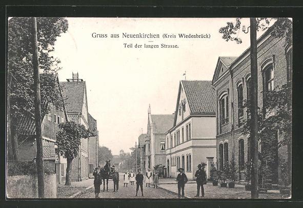 AK Neuenkirchen, Kinder in der Langen Strasse