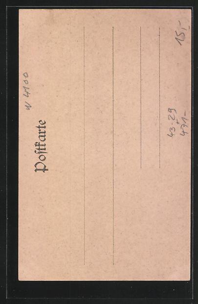 AK Duisburg, Rhein und Ruhrzeitung von 1901 1