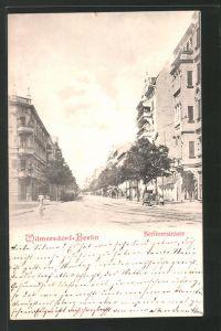 AK Berlin-Wilmersdorf, Blick in die Berlinerstrasse 0