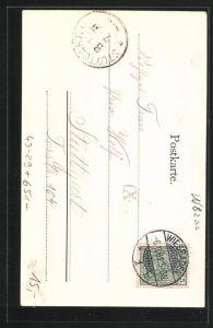 AK Wiesbaden, Wiesbadener Tagblatt von 1901, Zeitung 1