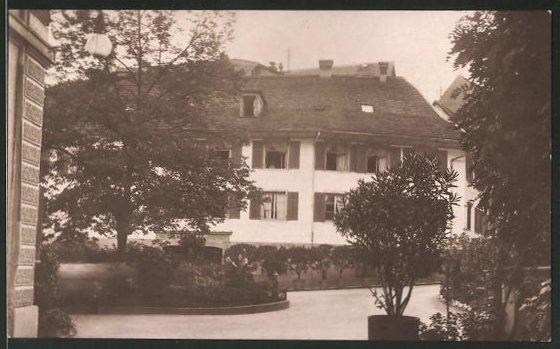 AK Baden, Bad-Hotel Blume 0
