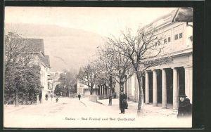 AK Baden, Bad Freihof & Bad Quellenhof 0