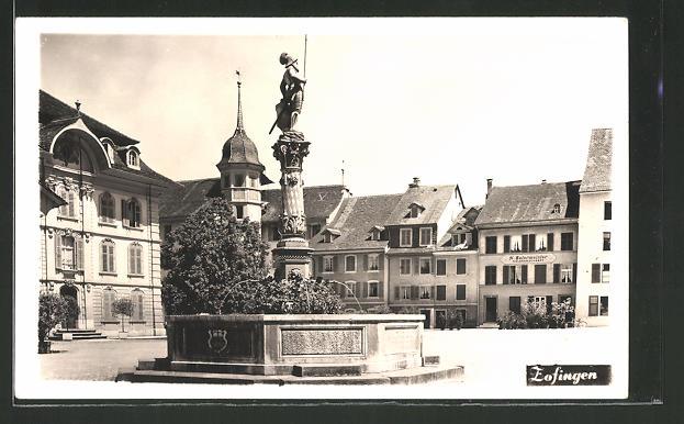 AK Zofingen, Partie am Marktplatz 0