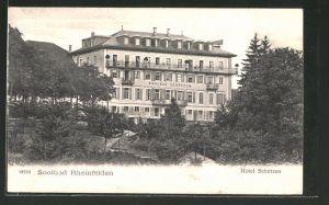 AK Rheinfelden, Soolbad Hotel Schützen