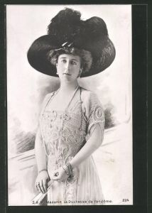 AK Adel von Belgien, Madame la Duchesse de Vendome