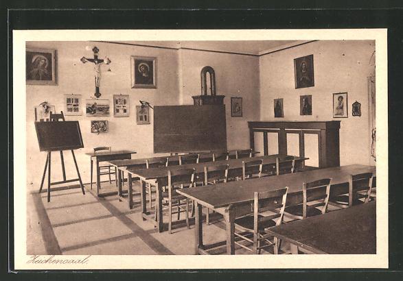 AK Au am Inn, Erziehungsinstitutz mit höherer Mädchenschule, Zeichensaal