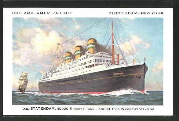 AK Passagierschiff D.D.