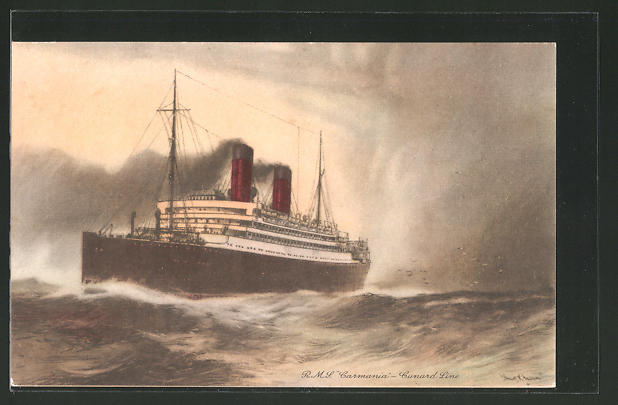 AK Passagierschiff R.M.S.