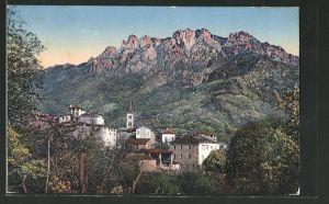 AK Sonvico, Villaggio e Denti della Vecchia