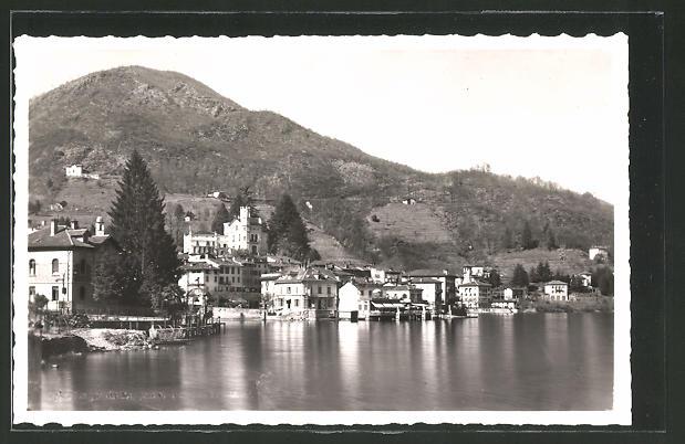 AK Ponte Tresa, Ortspartie am Ufer des Luganer Sees