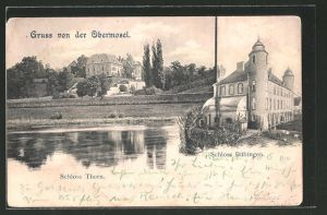 AK Palzem, Schloss Thorn und Schloss Bübingen