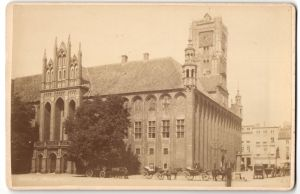 Fotografie Walter Lambeck, Thorn, Ansicht Thorn, Rathaus, Westpreussen