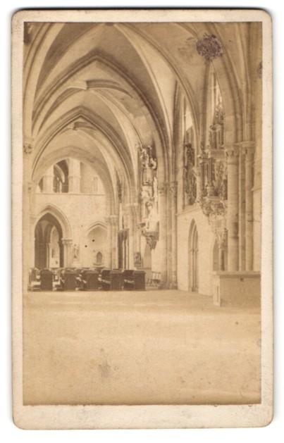 Fotografie Albert Ochs, Magdeburg, Ansicht Magdeburg, Dom, Innenansicht