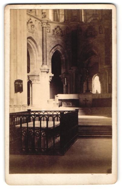 Fotografie Albert Ochs, Magdeburg, Ansicht Magdeburg, Altar im Dom
