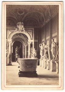 Fotografie Ansicht Vatikanstadt, Museo Vaticano, Galleria delle Statue