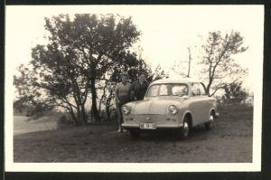 Fotografie Rauch, Leipzig, Auto Sachsenring Trabant 600