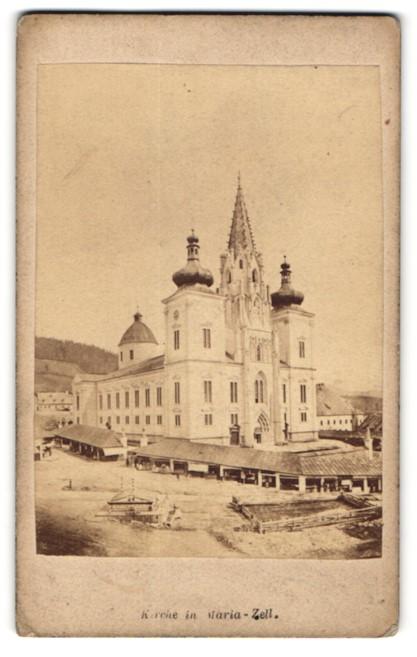 Fotografie Nikolaus Kuss, Maria-Zell, Ansicht Mariazell, Kirche