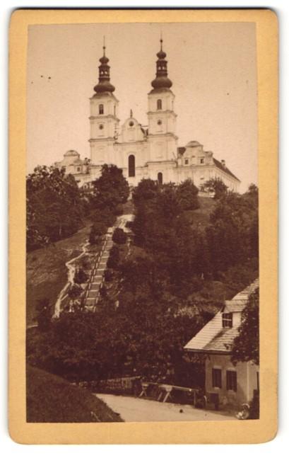 Fotografie unbekannter Fotograf, Ansicht Graz, Kirche Maria Trost
