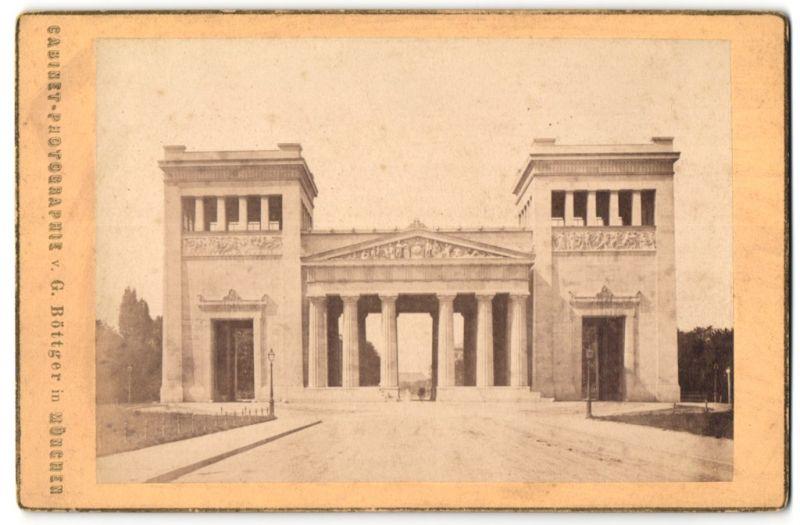 Fotografie G. Böttger, München, Ansicht München, Pinakothek