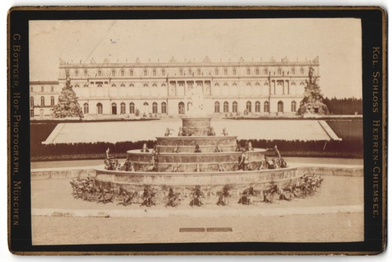 Fotografie G. Böttger, München, Ansicht Schloss Herren-Chiemsee