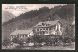AK Sörenberg, Blick auf das Kurhaus Sörenberg