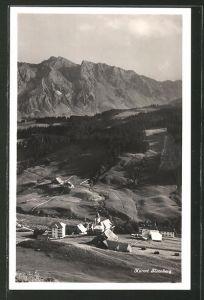 AK Sörenberg, Ortspartie im Gebirge
