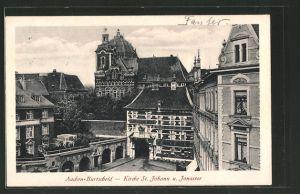 AK Aachen-Burscheid, Kirche St. Johann & Jonastor