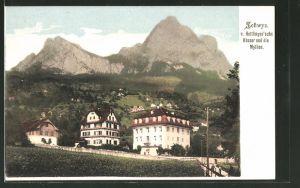 AK Schwyz, v. Hettlingen'sche Häuser und Mythen