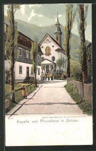 AK Goldau, Kapelle & Pfrundhaus