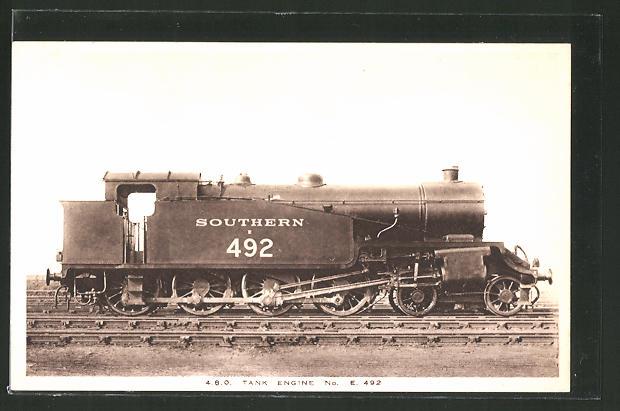 AK englische Eisenbahn
