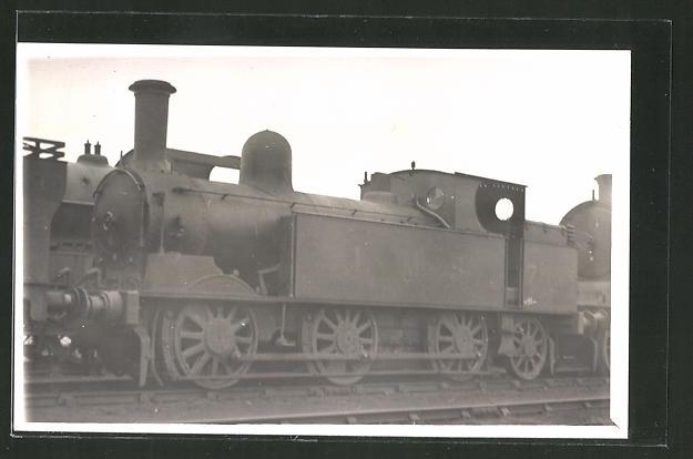 AK alte englische Eisenbahn