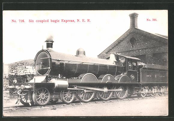 AK Six coupled bogie Express