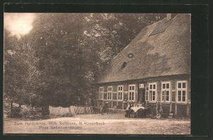 AK Schneverdingen, Gasthaus zum Heidekrug von W. Sellhorn