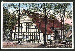 AK Duisburg, Restaurant Westfälisches Bauernhaus